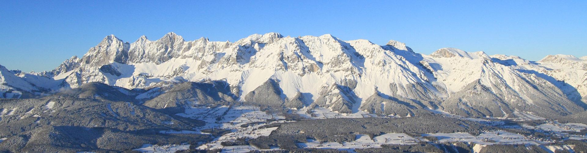 Ramsau am Dachstein im Winterkleid